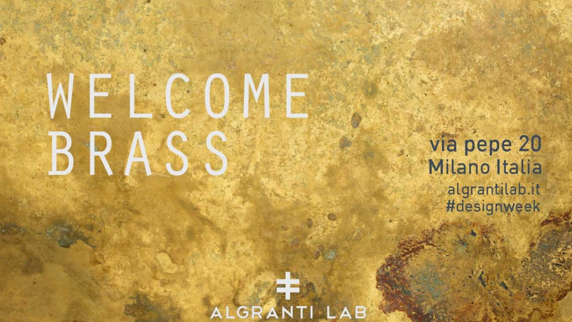 WELCOME BRASS: DesignWeek 2019